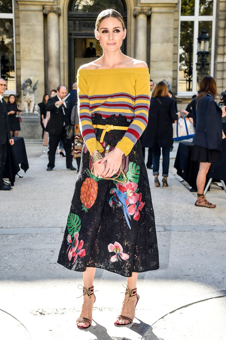 ファッションウィーク2017春夏にみる「やっぱりステキ❤」オリヴィアのフェミニンルック | Spark GINGER