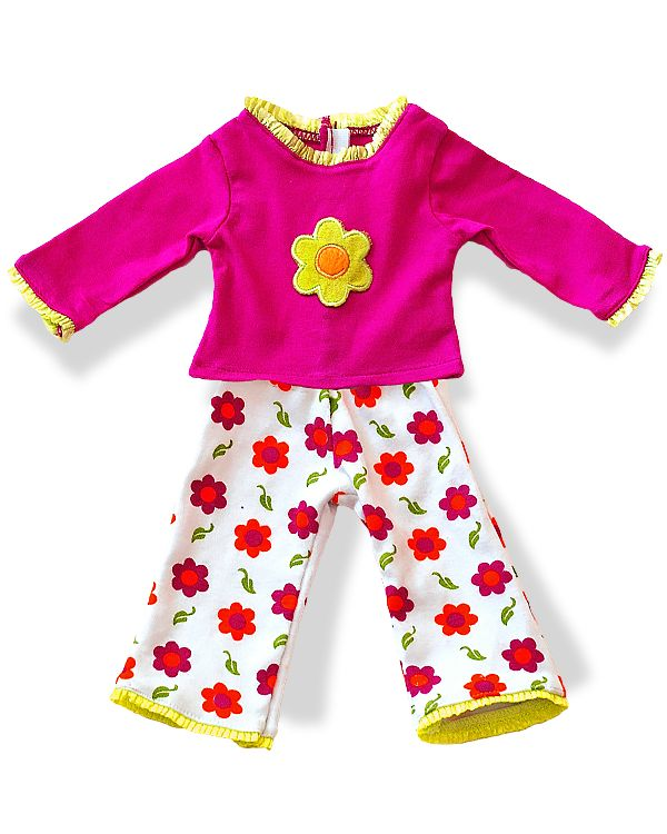 Matching Girl and Doll PJS at Wegirls