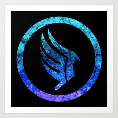 Mass Effect Paragon Art Print by Foreverwars - $19.00