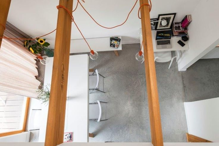 Jadalnia Simple House - widok z antresoli. Fot. Bautech Futura