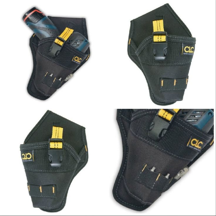 CLC 5021 Cordless Custom Leathercraft Impact Drill Driver Holster Pouch Holder  #CustomLeathercraft