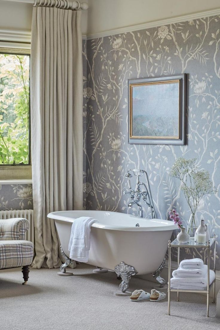 17 best Paper the Powder Room! images on Pinterest   Wallpaper ...