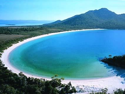 Wine Glass Bay Tasmania Australia