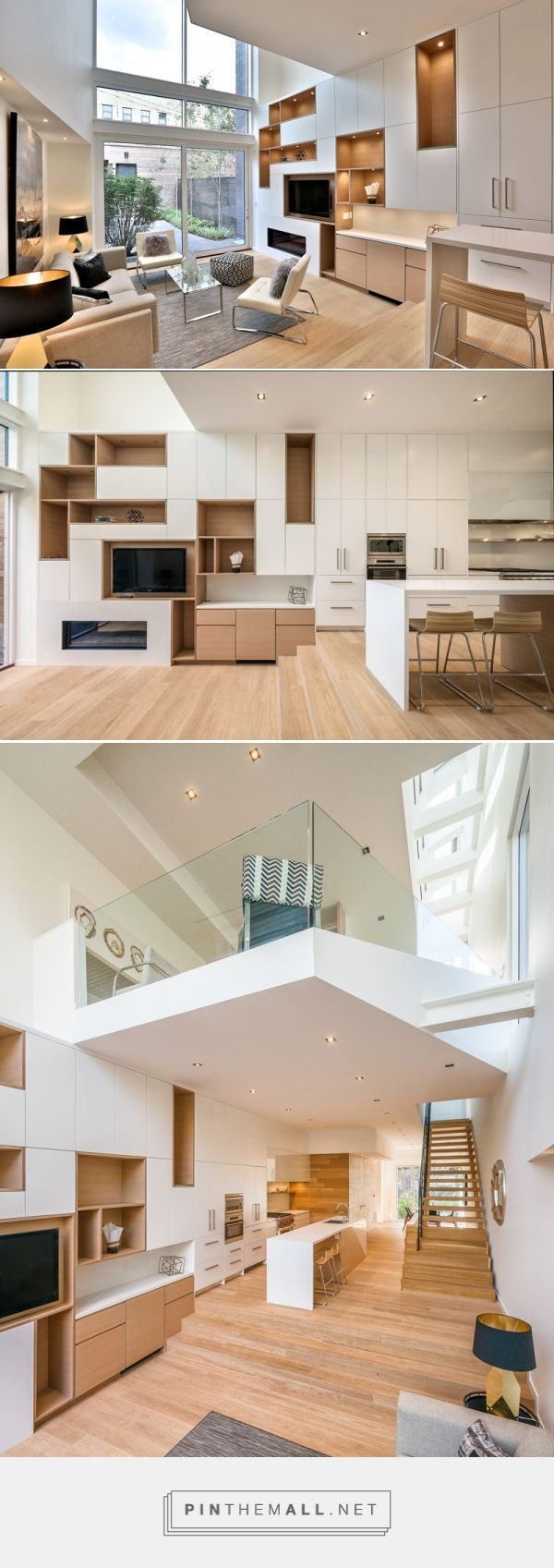 Luc Bouliane Design Two New Homes In Toronto's Forest Hill | CONTEMPORIST... - a grouped images picture - Pin Them All