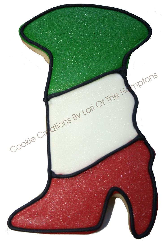 Italian Boot cookie