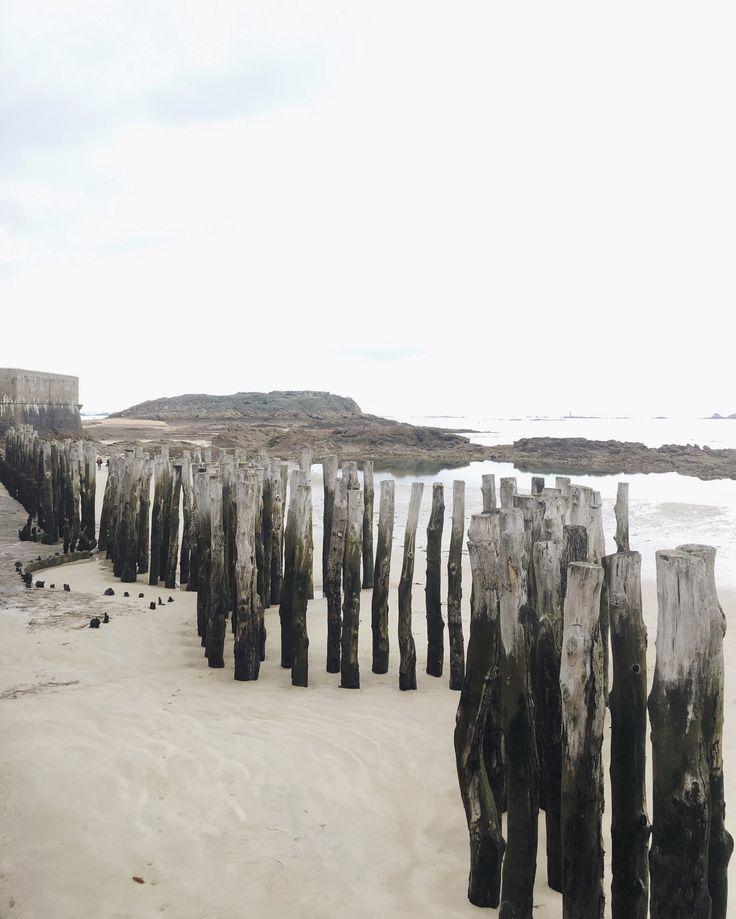 Saint Malo, Bretange/Brittany, France  #coast #beach