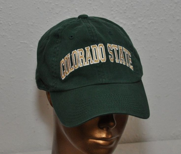 Colorado State University RAMS green Baseball Cap Hat Embroidered #AmericanNeedle #BaseballCap