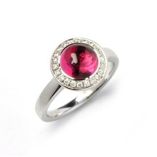 Nectar Pink Tourmaline Ring
