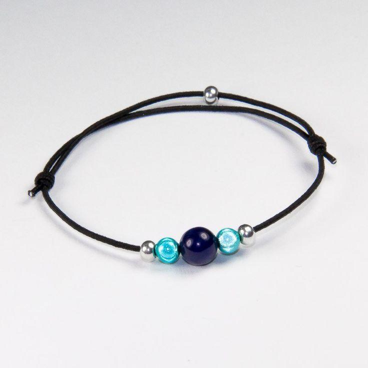 Atelier Minaïs Création   Bracelet Perle Marine - Bracelets Fille - Collection Enfant - Collections de bijoux   une ligne épurée de bijoux fantaisie