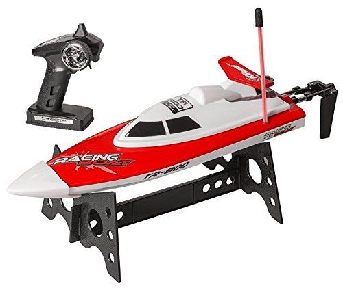 Top Race Remote Control Water Speed Boat, Perfect Toy for Pools and