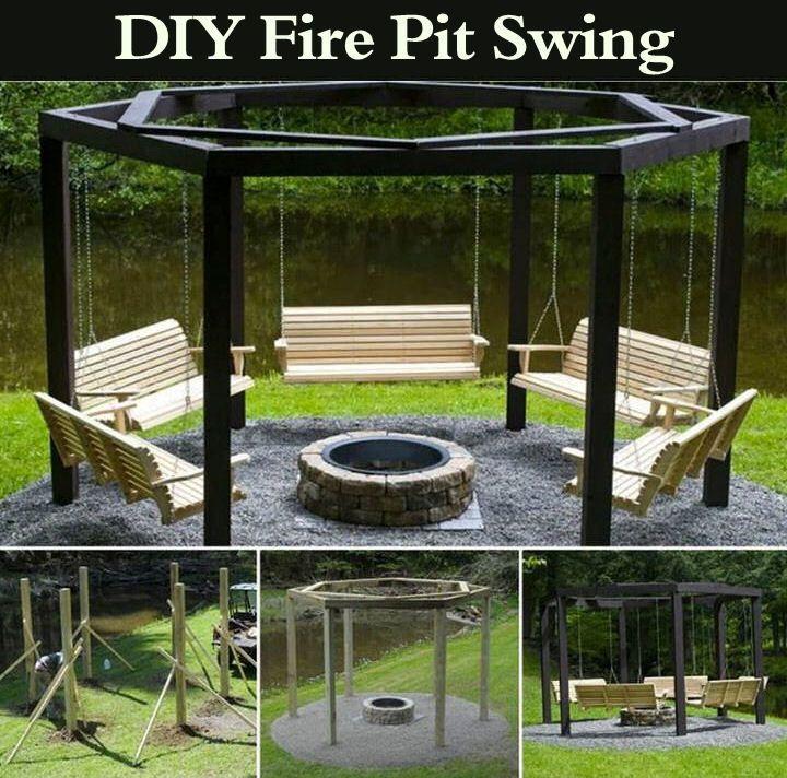 1000 Ideas About Backyard Fire Pits On Pinterest: 1000+ Ideas About Fire Pit Swings On Pinterest