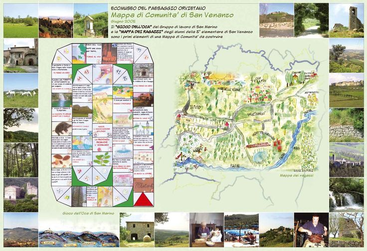 > Mappa di Comunità di San Venanzio