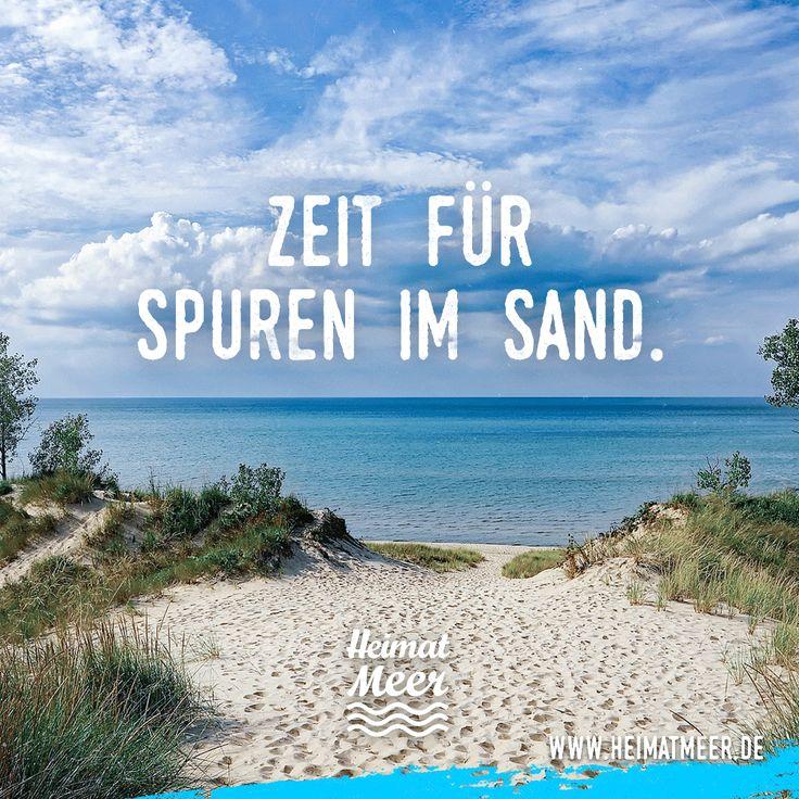 Zeit für Spuren im Sand. >>