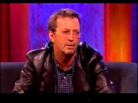 Eric Clapton on The Frank Skinner Show - YouTube