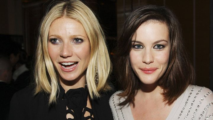 The long bob can go wavy or straighter, as seen on Gwyneth Paltrow and Liv Tyler (via Stephen Lovekin/Getty Images)