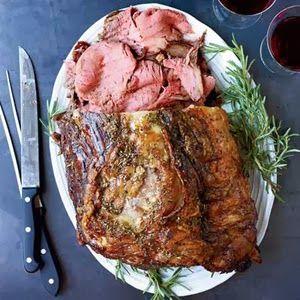 MY HUBBY'S BLOG: Rosemary Pepper Beef Rib Roast
