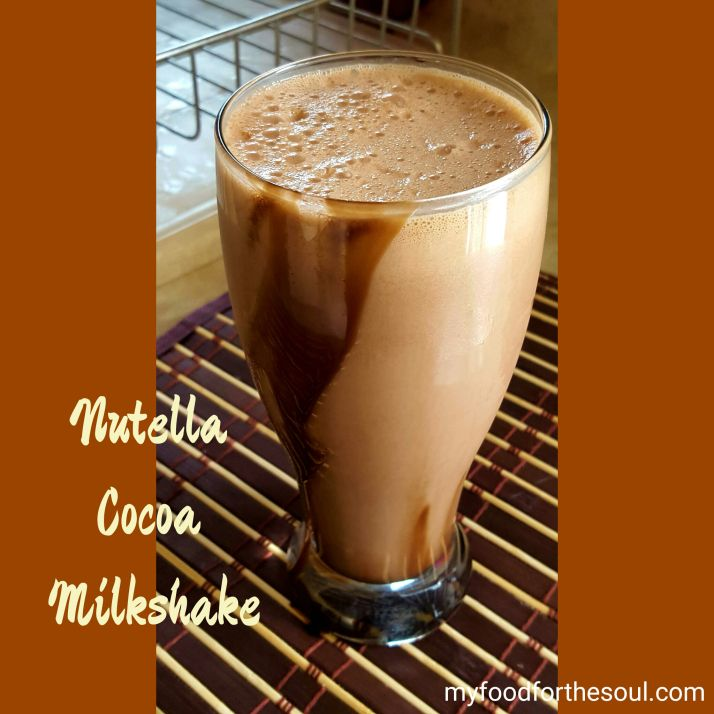 how to make nutewlla milkshake with blender