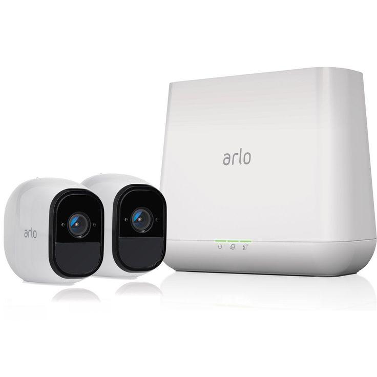 Camera De Surveillance Interieure Exterieure Sans Fil Pro Pack 2 Cam Arlo Camera Surveillance Camera De Securite Camera