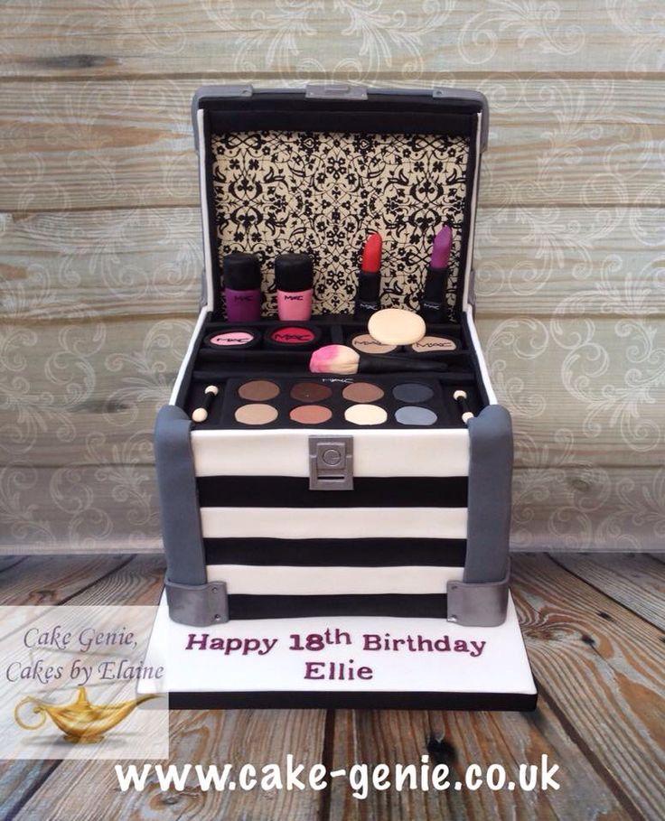 3D Make-Up Box Birthday Cake