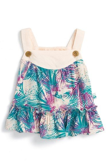 Roxy 'Sandal' Ruffle Tank (Baby Girls) available at #Nordstrom
