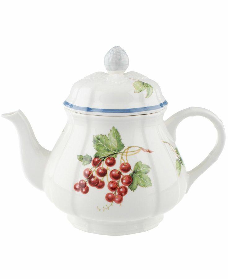 Villeroy Amp Boch Quot Cottage Inn Quot Teapot 34 Oz The Cottage
