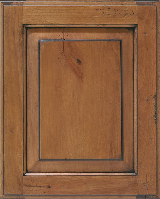 DistressedKnottyAlderFruitwoodChocolateGlaze - Custom Cabinet option....You dream it, it can be done.