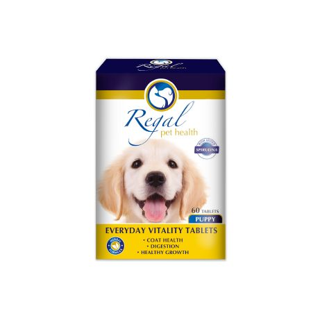 Regal Everyday Vitality Puppy Tablets: 60's