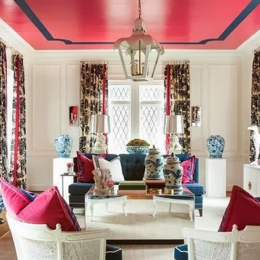 17 Best Ideas About Pink Ceiling On Pinterest