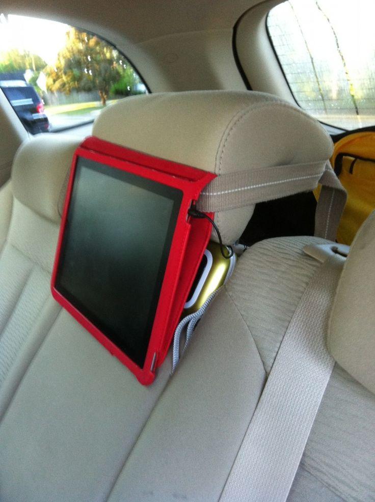 The DIY iPad car mount | Great Ideas | Pinterest