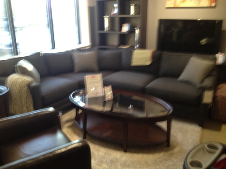 69 Best Dark Sectional Images On Pinterest Brown