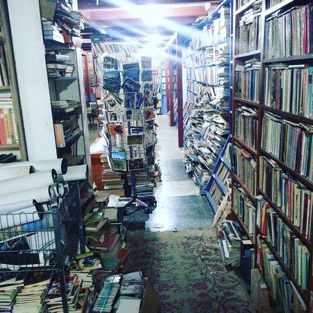 A second hand book shop in Antalya. #antalya #turkey