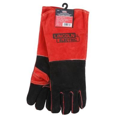 Lincoln Electric Premium Leather Welding Gloves-KH643 - The Home Depot
