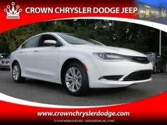 2016 Chrysler 200 Limited Sedan at Crown Chrysler Dodge Jeep Ram Greensboro:  https://www.crownchryslerdodge.com/new-inventory/index.htm
