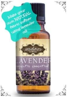 Did you know you could use your Lavendar Oil to make a natural laundry softner? Here's how:   Fill a quart-size glass canning jar with white vinegar and add about 20-25 drops of Jordan Essentials Lavendar Oil, use a teaspoon of rubbing alcohol (for emulsion), then put on the lid, shake it up and done!! Use about a half cup in your fabric softner receptacle of your washing machine...it's good for your clothes, skin, machine and very inexpensive!!