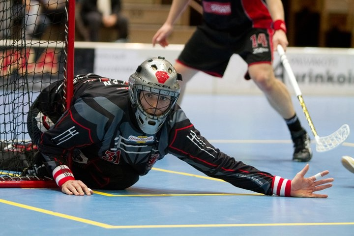 Eepi Kosonen #floorball #goalie