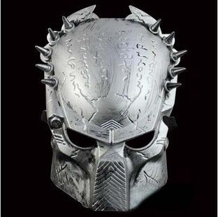 HOT Style Carnival Party Mask Film And Television Theme Iron Warrior Mask lone Wolf Iron Mask High Quality