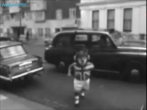 October 19, 1965 - The British football team mascot World Cup Willie, arriving at the FA in London World Cup Willie, the England teams's mascot for the 1966 World Cup, played by George Claydon, arrives at the Football Association headquarters, Lancaster Gate, in London. Mr George Claydon had the honour of being World Cup Willie, the first official World Cup Mascot.