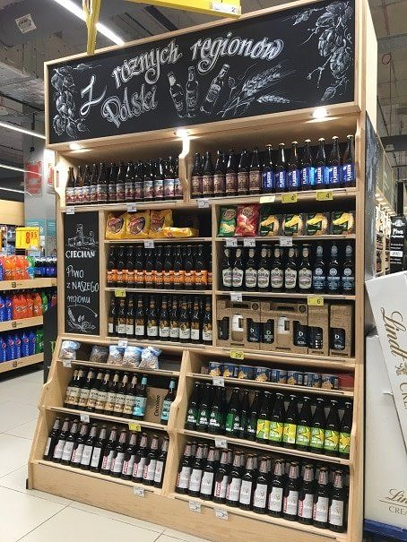Store Of The Week Carrefour Tcc Global Shop Design Liquor