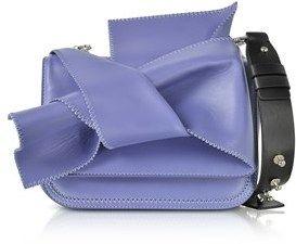 N°21 Women's Purple Leather Shoulder Bag.