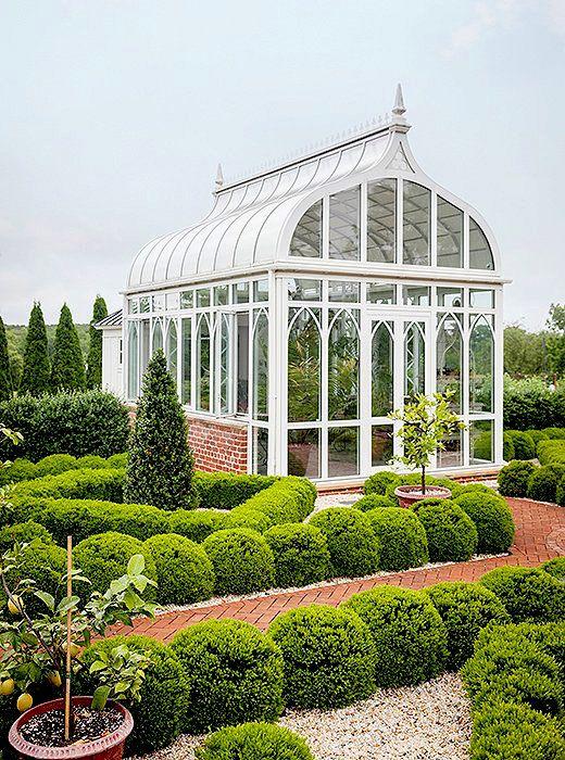 Elizabeth Locke Via OKL. Formal GardensGlass HousesGarden HousesBeautiful  ...