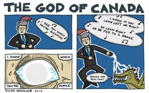 The God of Canada #4: Christmas Edition - riotwire