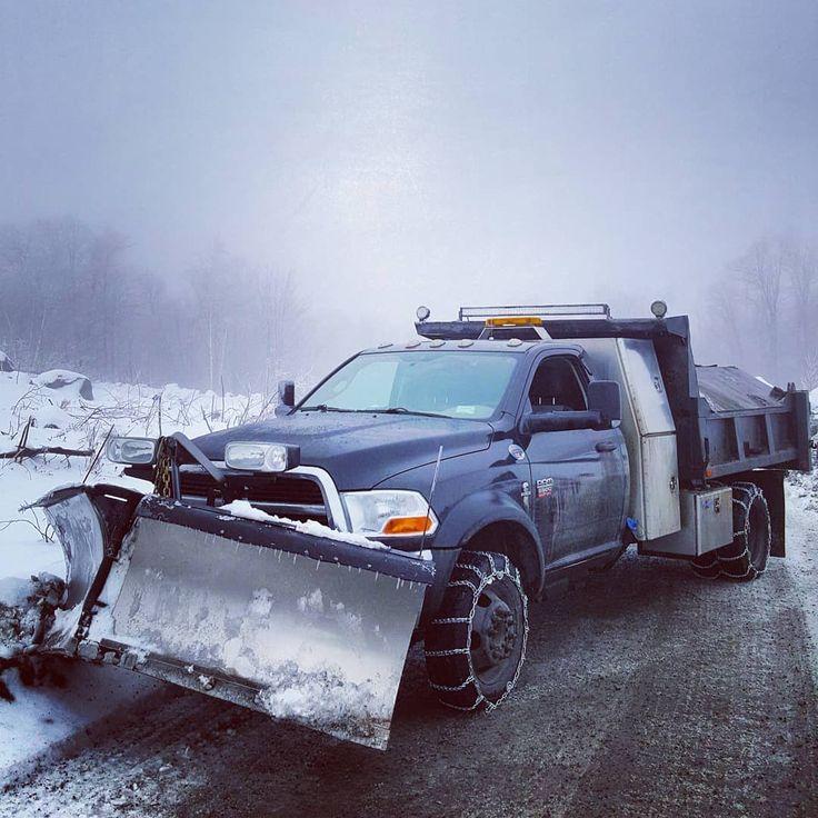 Stella all chained up @snowmenshow @fishersnowplows @ramtrucks #dodge #ram #5500 #Cummins #4x4 #dumptruck #landscaping #landscapersofinstagram #heavyduty #workgrind  #landscapeconstruction #construction #bobcat #roadwork #lawn #zeroturn #work #kubota #excavator #ramtruck #excavation #makemoney #dually #diesel #landscaper #hd #truck #4x4truck #offroad #Adirondacks