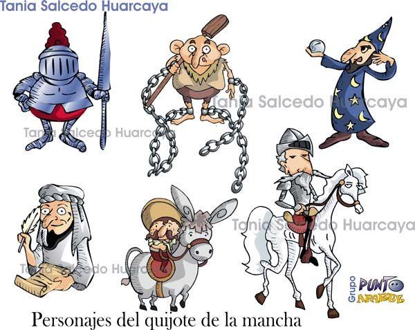 personajes de don quijote de la mancha