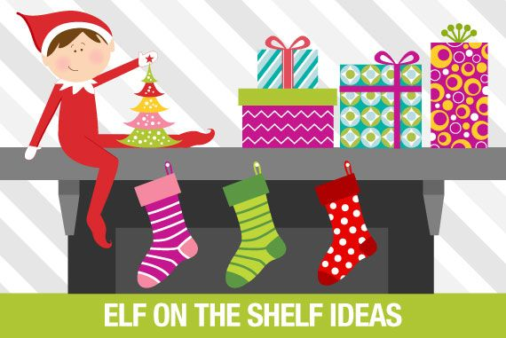 Get awesome Elf on the Shelf ideas!