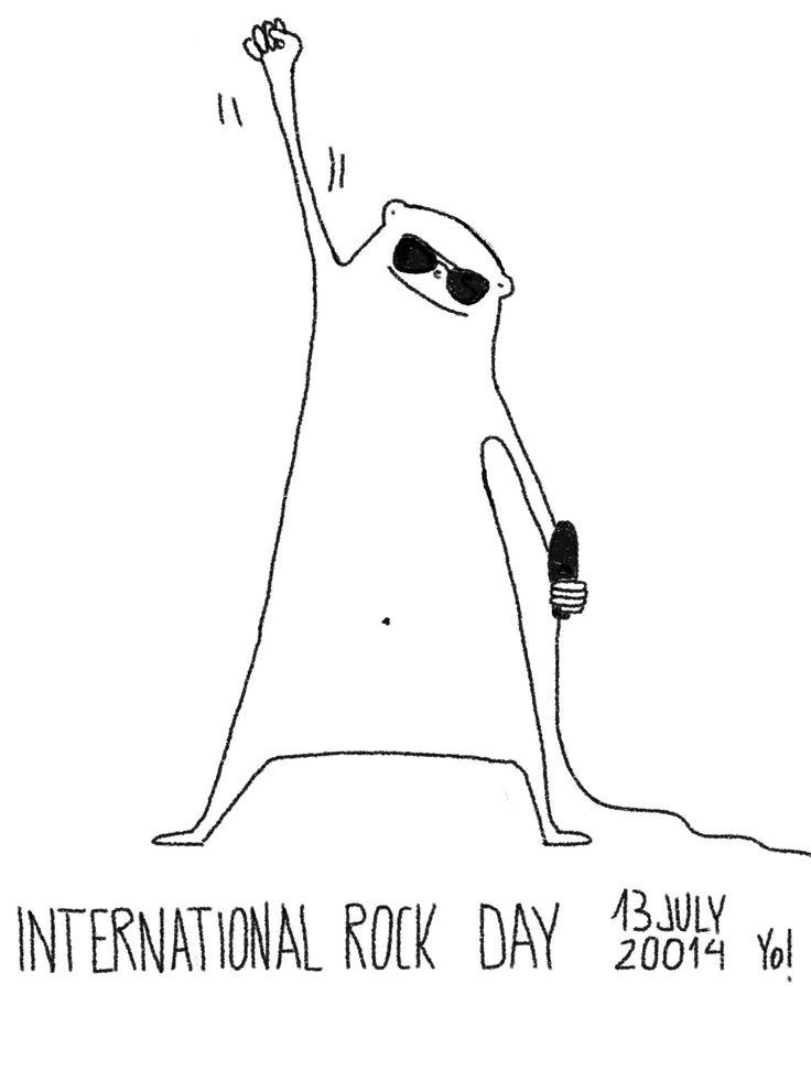 13  de Julio, día Internacional del Rock