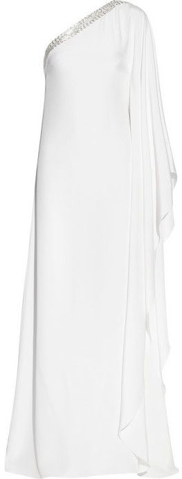 Emilio Pucci Embellished silk-satin kaftan-style gown on shopstyle.com