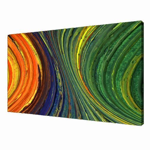 Het grootste deel in dit schilderij word gebruik gemaakt van secundaire  kleuren. Oranje word namelijk gemaakt van geel en rood. En groen wordt gemaakt van geel en blauw