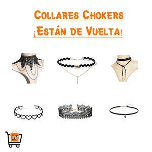 Los chokers o los llamados collares de los años 90 ¡Han vuelto! Únete a esta nueva moda y anímate a probar los diferentes atuendos y accesorios que puedan combinar con los collares chokers.