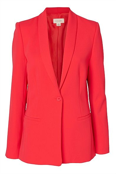 Longline Slim Jacket