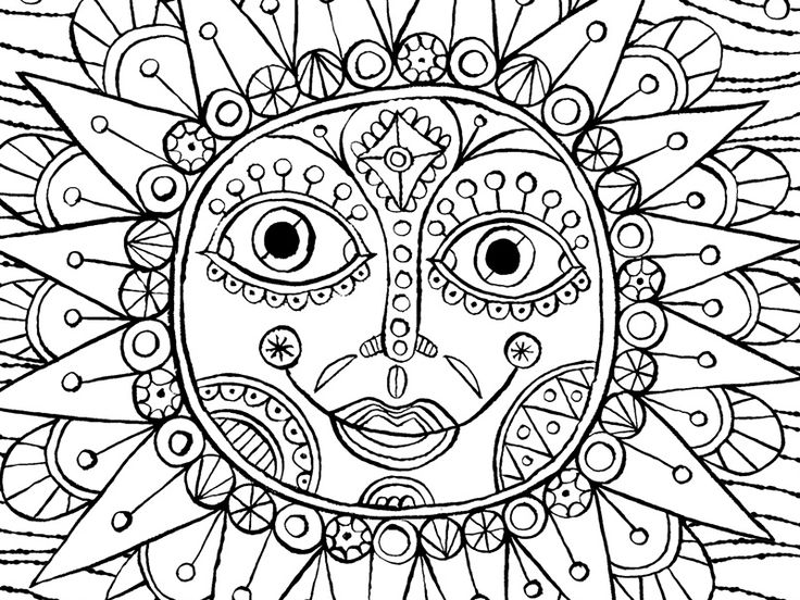 17 Best Images About FREE ADULT COLORING PAGES On